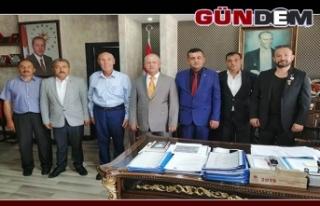 Öztürk'ten Kaymakam Çorumluoğlu'na ziyaret