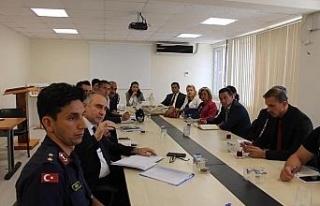 Safranbolu'da İlçe İdare Şube Başkanları Toplantısı