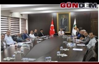 Vali Bektaş başkanlığında toplandılar