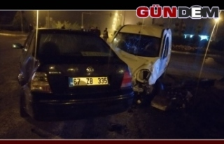 Zonguldak'ta Kaza, 2 yaralı
