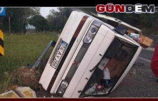 Zonguldak'ta Kaza; 2 yaralı