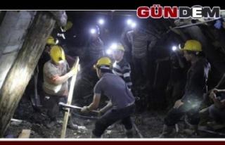 En fazla açık madencilik sektöründe