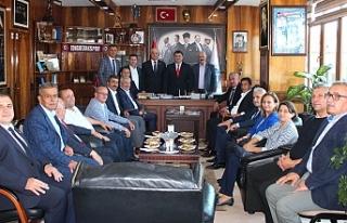 AK Partili üyelerden GMİS'e ziyaret
