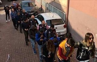 Bartın'da uyuşturucu operasyonu: 5 tutuklu