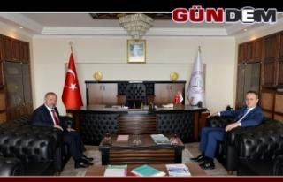 Başkan Alan'dan Çufalı'ya ziyaret!..