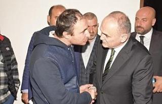 Başkan Özlü Çakırlar ve Beyciler'de vatandaşı...