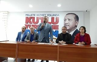 Çaycuma'da Barış Pınarı Harekatı'na destek...