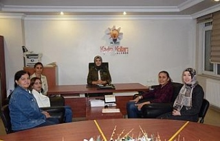 Dünya ikincisi Güneri'den AK Parti Kadın Kollarına...