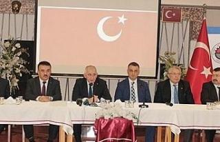 Düzce'de STK'lardan Barış Pınarı harekatına...