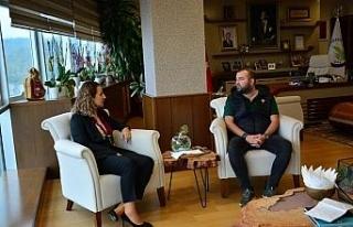 Gastronomi yazarı Eray Kılıç Düzce Üniversitesi'nde