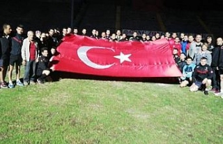 Hakemler Barış Pınarı harekatına destek verdi