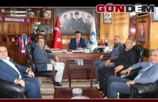 Kutoğlu, GMİS'i ziyaret etti