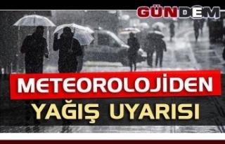 Meteoroloji'den birçok il için sağanak yağış...