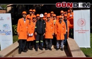 Öğrencilerden Erdemir'e ziyaret