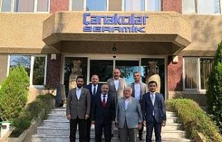 Rektör Çufalı, Gökçebey Meslek Yüksekokulunu...