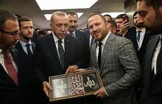 Sarıçam'dan Cumhurbaşkanı Erdoğan'a anlamlı...