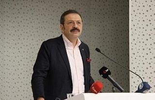"""TOBB Başkanı Hisarcıklıoğlu: """"Ticari davalar..."""