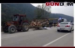 Traktörden çıkan römork devrildi: 1 Kişi Hayatını...