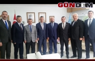 Zonguldaklı heyetten Genel Müdür Keskin'e...