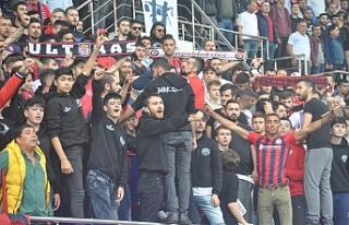 Zonguldakspor'a  3 bin taraftar destek verdi.