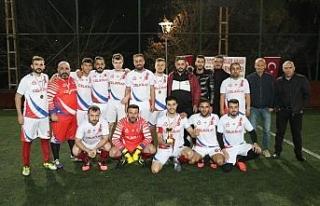 1.Haddehaneler turnuvası şampiyonu Çelikray oldu
