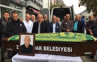 Ayhan Çemberci için tören düzenlendi