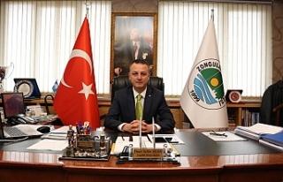 Başkan Alan, Ulu Önder Atatürk'ü andı