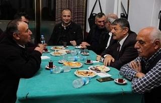 Başkan Cemal Akın köy sakinleri ile buluşmaya...