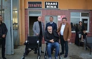 Başkan Koloğlu destek olanlara teşekkür etti