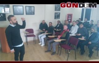 Belediyeden iş sağlığı ve güvenliği semineri