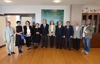 Büyükelçisi Janjgava Düzce Üniversitesi'ni...