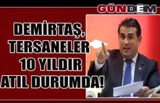 DEMİRTAŞ, TERSANELER 10 YILDIR ATIL DURUMDA!