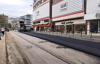 Gazipaşa'da asfaltlama başladı