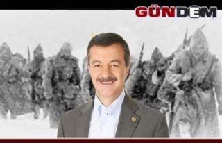 Milletvekili Türkmen, Sarıkamış Deniz Şehitlerini...