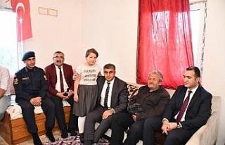 Vali Gürel'den dezavantajlı ailelere ziyaret