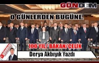 100 YIL/ BAKAN/ÇELİK