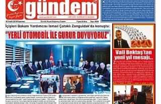 30 ARALIK 2019 PAZARTESİ GÜNDEM GAZETESİ