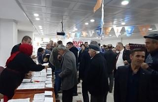 AK Parti Çaycuma'da kongre süreci başladı
