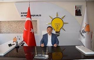 AK Parti İl Başkanından yeni yıl mesajı