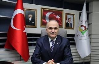 """Başkan Faruk Özlü, """"Düzce küllerinden yeniden..."""
