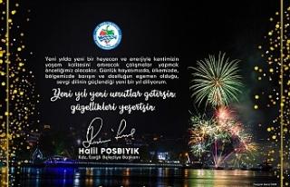 Başkan Posbıyık, yeni yıl mesajı yayımladı