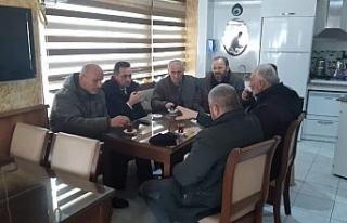 Başkan Yanmaz vatandaşlarla istişare etti