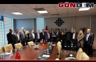 Batı Karadeniz Birliği İller Bankası'na ziyarette...