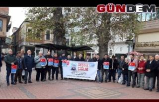Doğu Türkistan vatandaşlarına destek için biraraya...