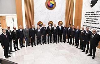 DTSO Başkanı Şahin, İKV'nın yürütme kurulunda