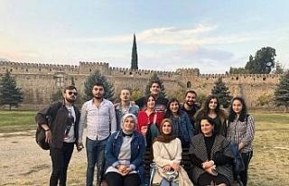 Düzce Üniversitesi öğrencileri Gürcistan'ı...