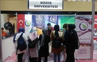 Düzce Üniversitesi Sakarya'da Üniversite Adaylarıyla...