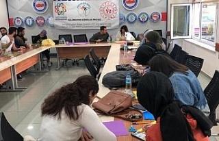 Düzce'de akran eğitimler devam ediyor