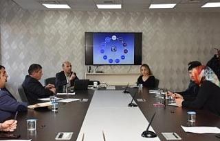 E-Belediye toplantısı yapıldı