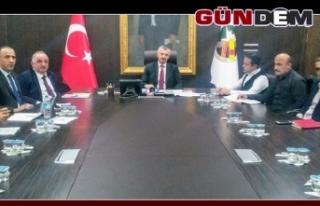 EKONOMİ TOPLANTISI GERÇEKLEŞTİRİLDİ